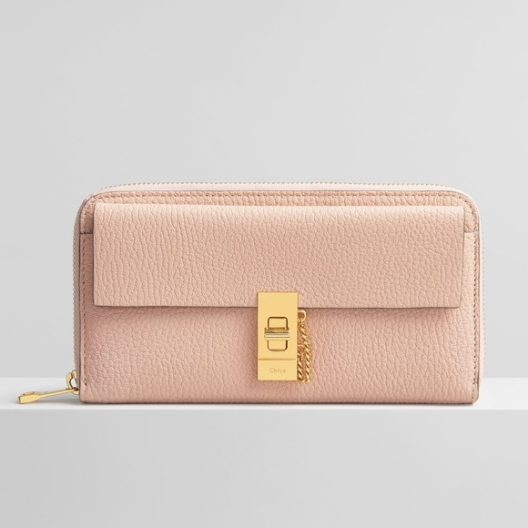 New Chloe drew large wallet